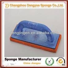 sponge Bottom Wooden or plastic Handle Rubber plaster Trowel