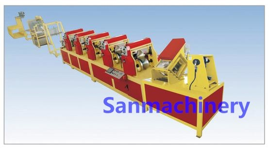 Punching Paper Edge Protector Production Line With High Quality