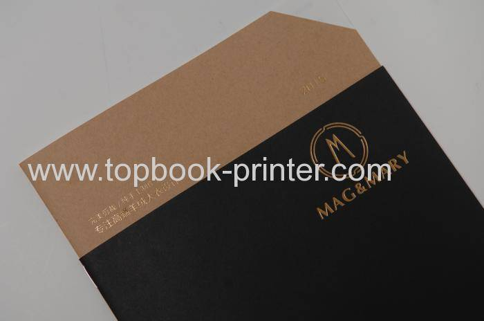 top-grade gold stamped cover gloss laminated softcover or softback cut-corner book printer