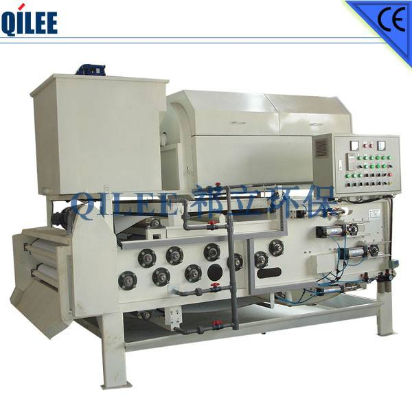 Chemical Industry Sludge Dehydrating Equipment SS304 Materials
