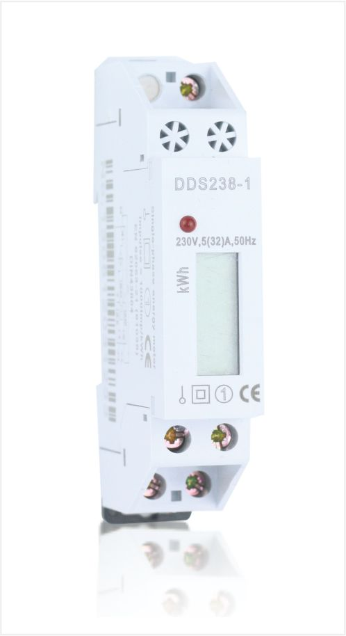 Single phase din rail energy meter,Type DDS238-1
