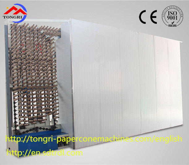 Best quality high configuration lower waste paper rate drying machine for paper cone production