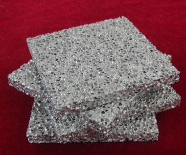 Aluminum foam composite panels