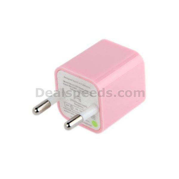 High Quality EU Plug USB Charger Adapter for iPhone 6 & 6 Plus 5V / 1A