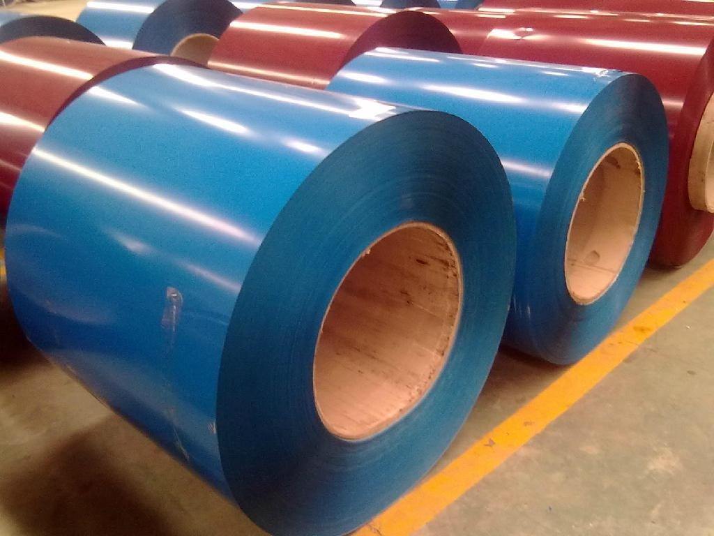 0.38mm Thickness Prepainted Galvanized /Color Coated Steel /PPGI Coil with Zinc 40g for Roofing