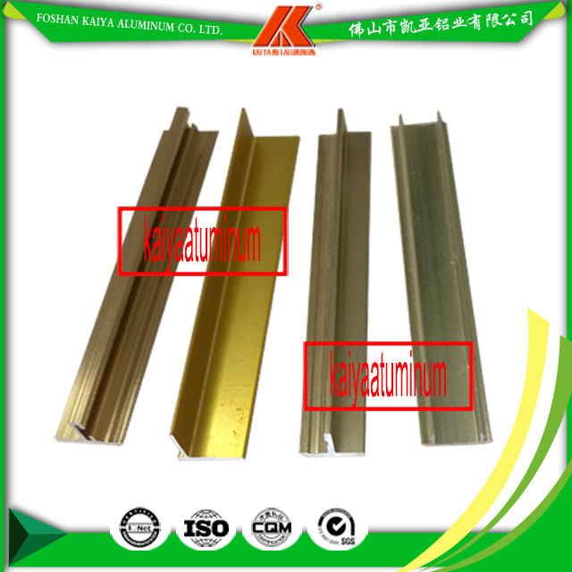 Factory Made Aluminum Extrusion Profile T-shape For Decorative Aluminium Door and Windows