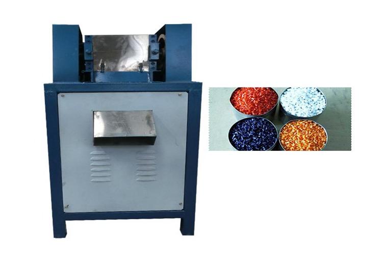 Plastic pellet cutting machine   Plastic granule cutter