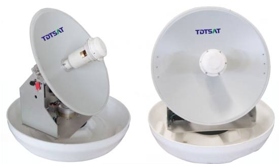TDT TVRO mobile satellite antenna for marine of high quality good price