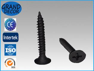Drywall screw black or zinc