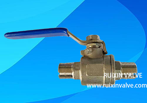 2PC ball valve 1000 psi male threaded NPT Stainless Steel
