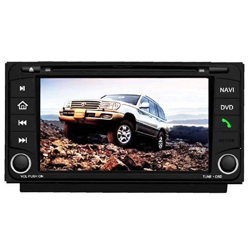 "TOYOTA DVD GPS Navigation + 6.5"" HD screen + Bluetooth A2DP + ipod + Notebook + File browser + Game"