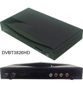HD Mpeg4/H.264 DVB-T Receiver, HDMI, TV Tuner, DVBT3826HD