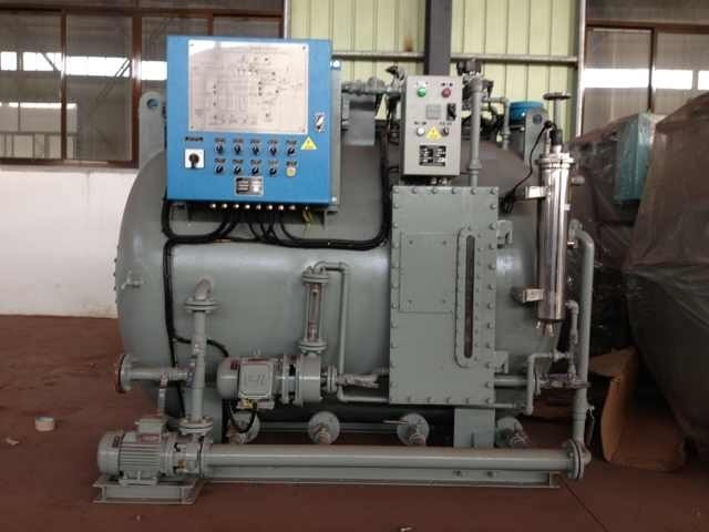 Oil skimmer for sewage treatment device IMO standard