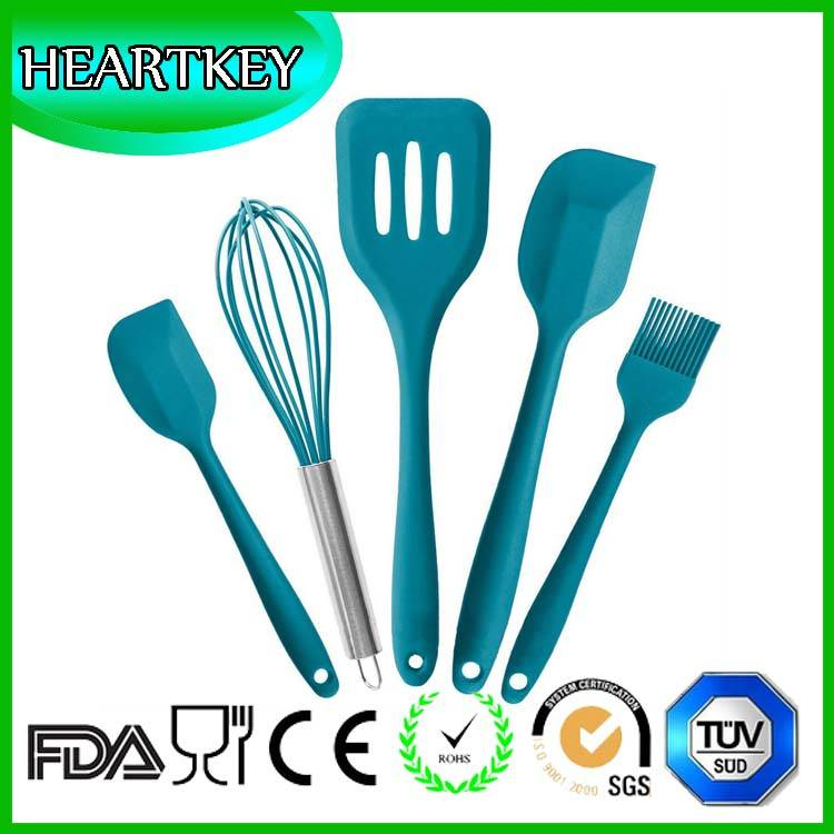 Top Selling Custom Silicone Spatula Best Quality Silicone Flexible Turner Set