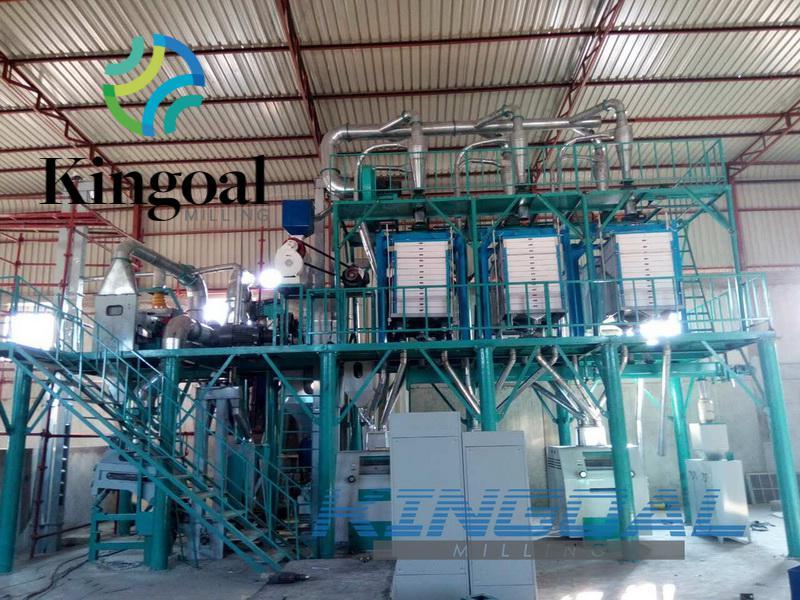 50 Ton Maize flour milling machine