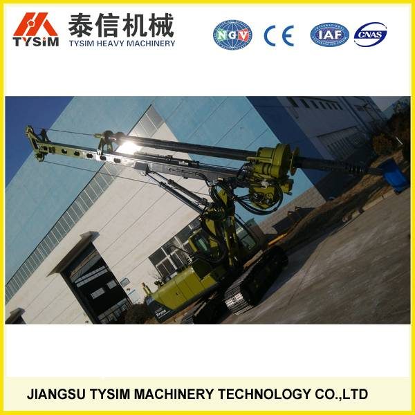Hydraulic Rotary Drilling Rig KR80A,soil digging machine