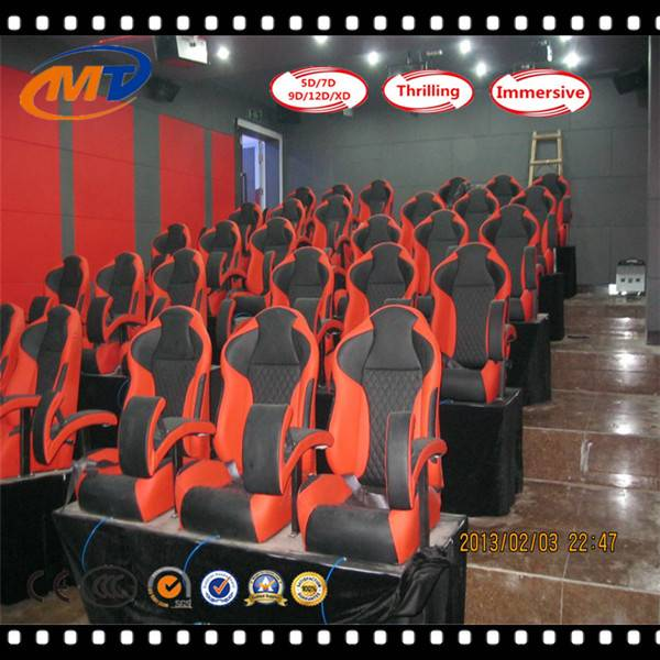 hydraulic /electric cinema simulator 5d 7d cinema system hot sale