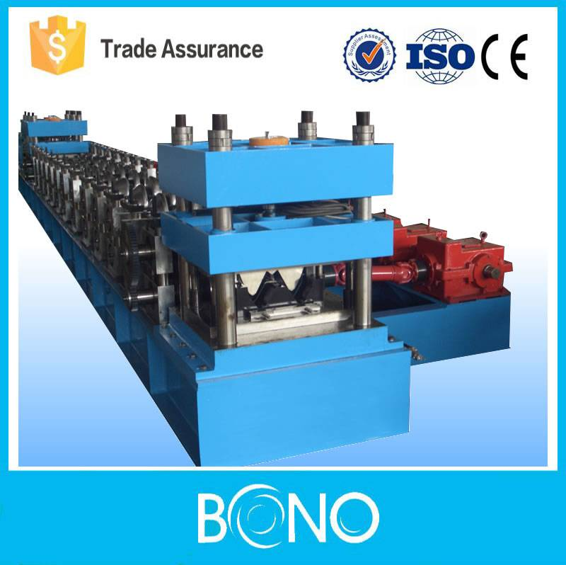 High efficiency Highway Steel Guardrail Roll Forming Machine