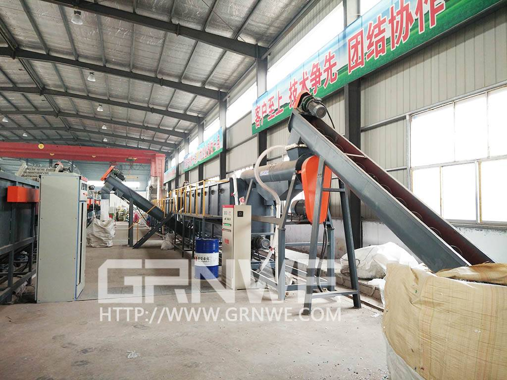 high quality complet plant pp pe plastic film crushing washing drying line
