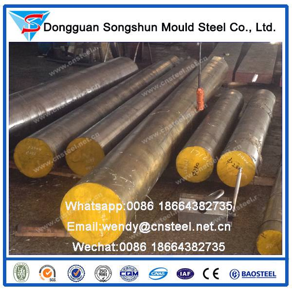 Tool Steel d3/cr12/1.2080 Steel Round Bar