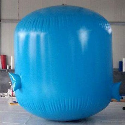 New type large PVC soft biogas bag for home