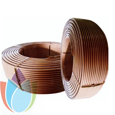 ASTM B280 Standard Copper Level Wound coil