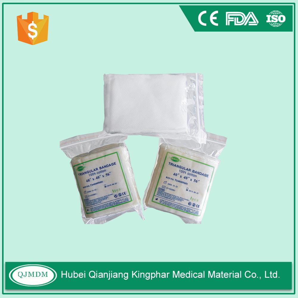 Medical Gauze Triangular Bandage Cotton Triangular Bandage