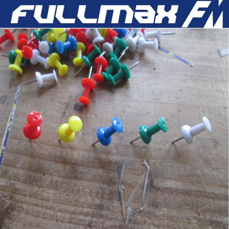 Push Pins Traditional Shape Plastic