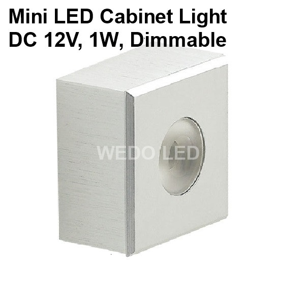 CE RoHS 1W Surface Mounted 12V LED Ceiling Cabinet Light