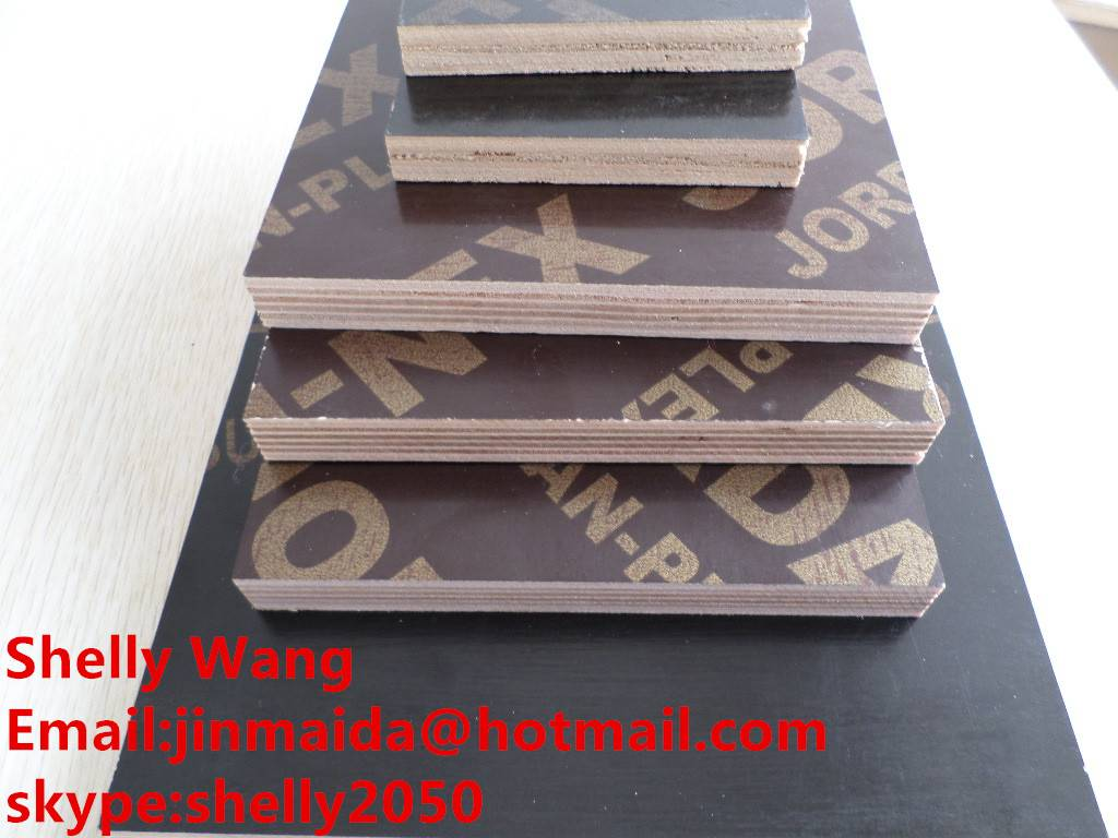 18mm melamine glue film faced plywood for construction