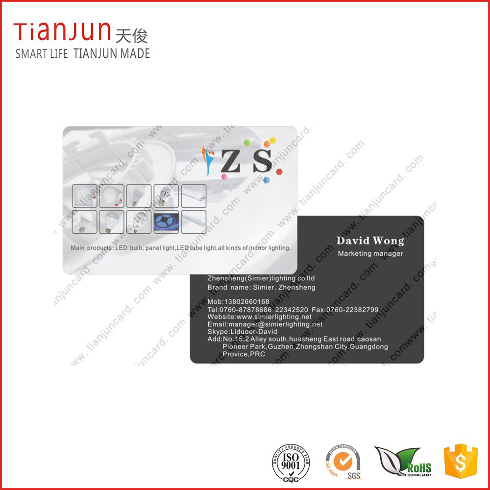 Full Color Off-set Printing Plastic PVC Smart Card with NTAG213 215 TK4100