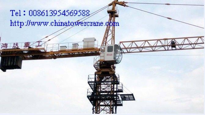 QTZ125A tower crane