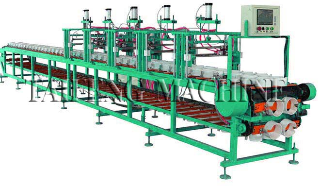 Automatic machine for printing balloon 1-5 sides
