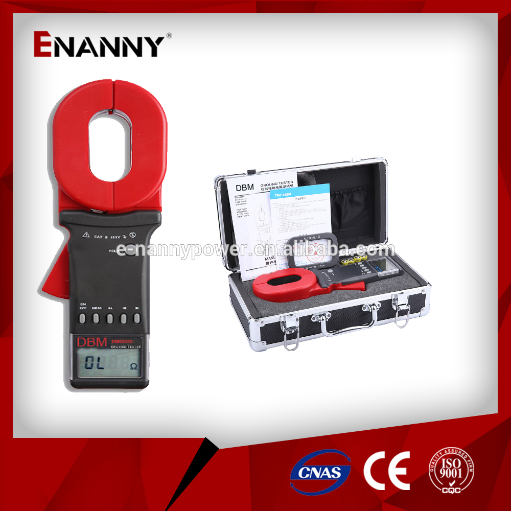 DBM2000+ Dual Clamp Earth Resistance Tester