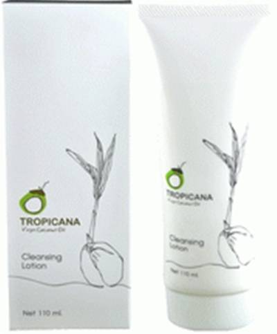Tropicana Organic COCONUT CLEANSING LOTION 110 ml.