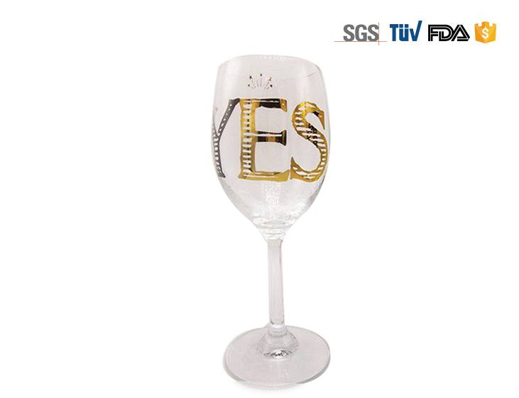 Nice Handpaint wine Glass