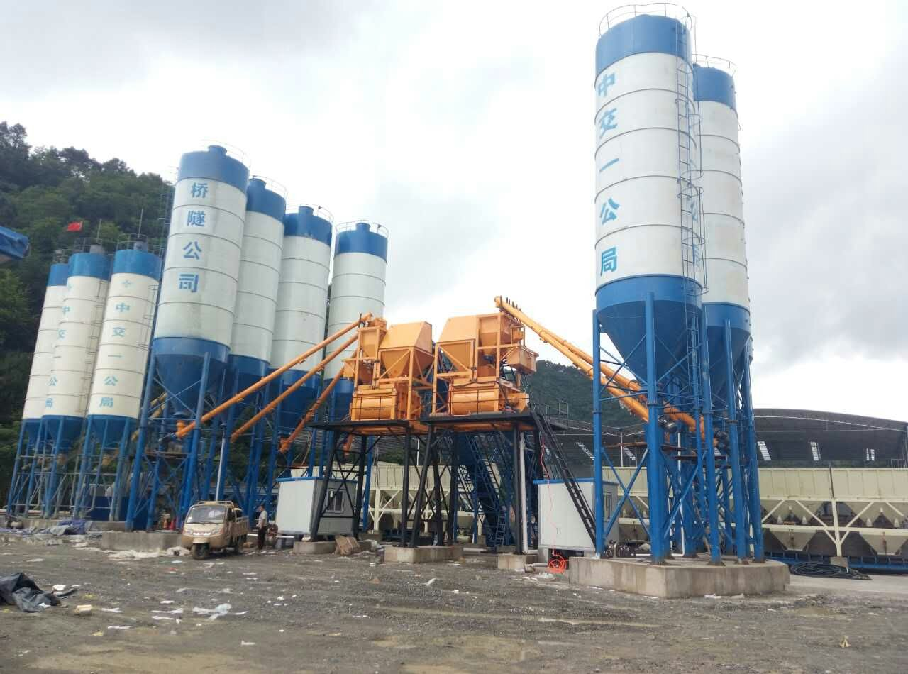 1500 type concrete mixing station