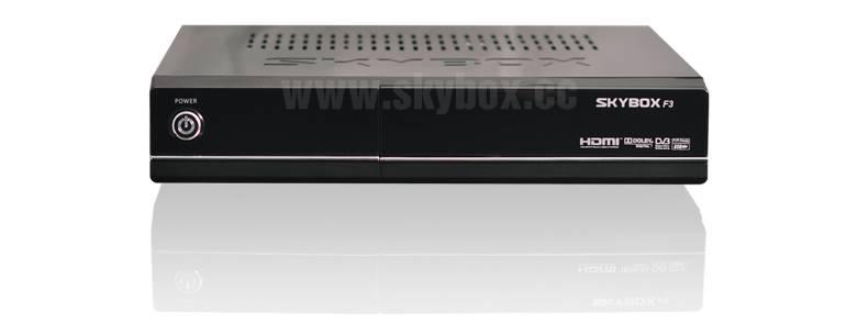 Original Skybox F3 1080p Full HD Satellite Digital Receiver/Set Top Box
