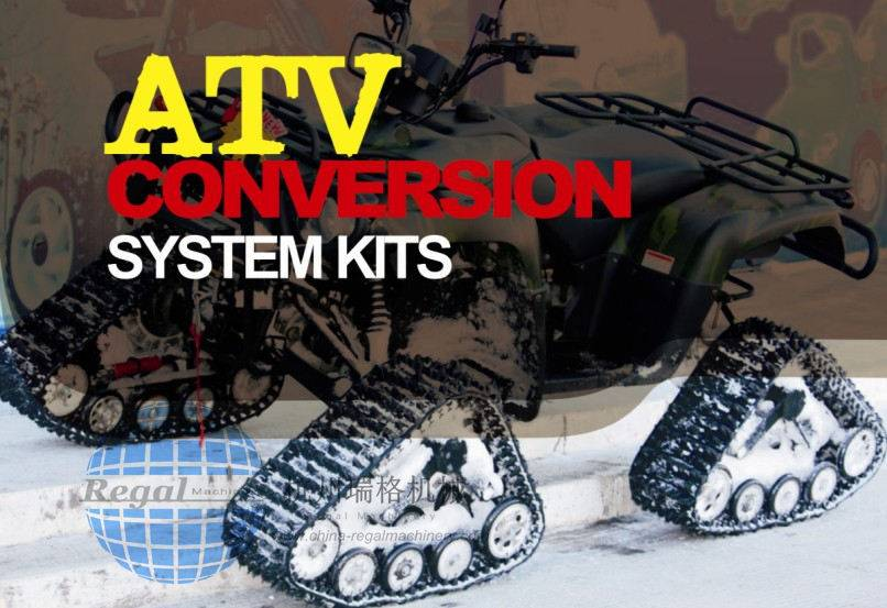 ATV Rubber Track Conversion System (kits)