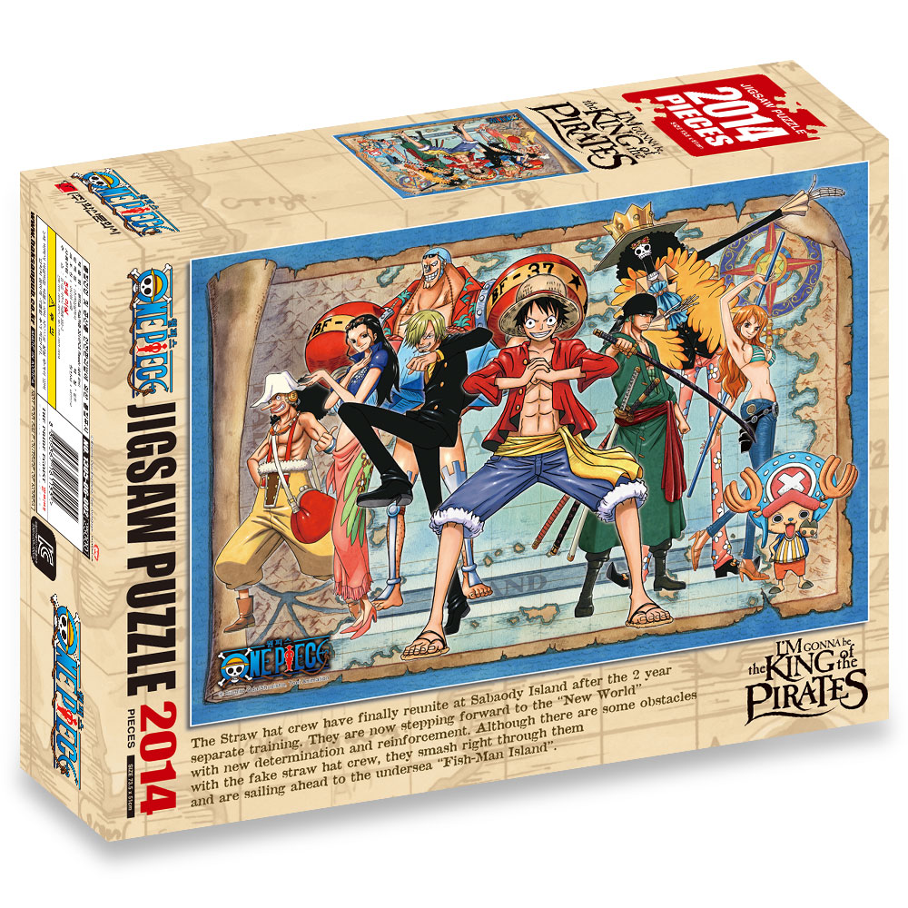 Korean puzzle Character Jigsaw Puzzle