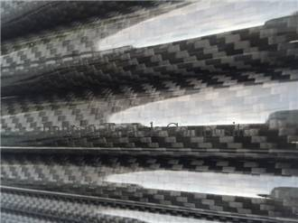 3K weave carbon fiber tube, high strength carbon tube, Jiangsu carbon tube