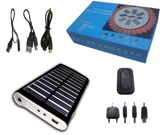 Solar power bank 1800mAh