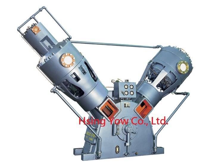 High pressure air compressor for PET bottles (225HP)