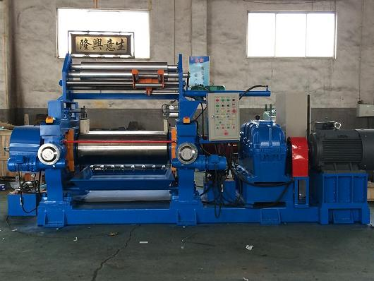26-Inch Open Two-Roll Mixing Mill Machine Made In China
