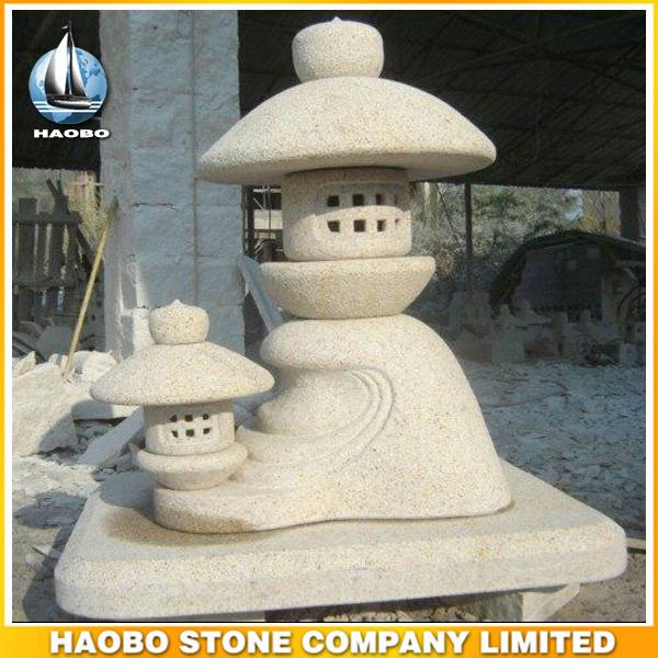 Japanese Garden Lantern Granite