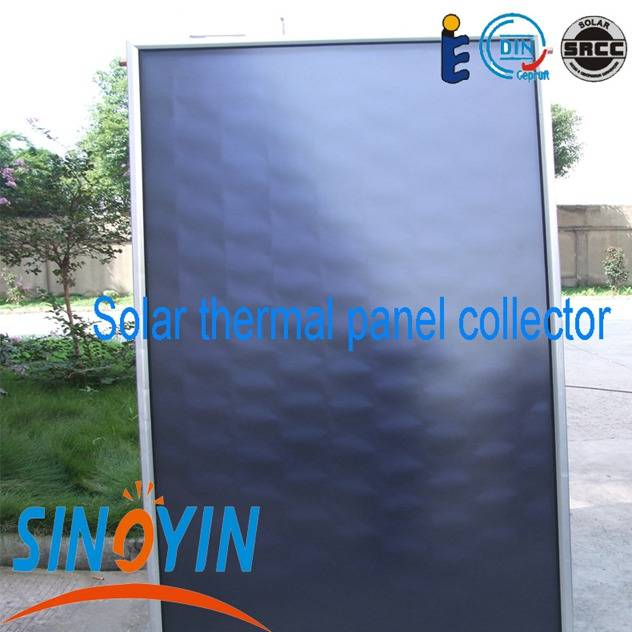 solar thermal panel of 2.5sqm solar key mark