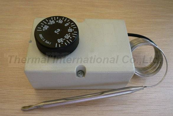 Manual Reset Capillary Thermostat