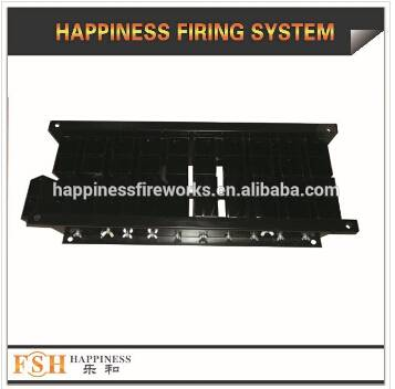 "Liuyang Happiness 2"" 40 shots iron fireworks display rack, China factory"