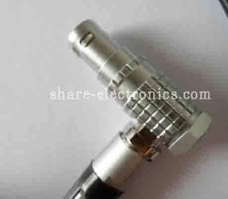 lemo compatible connector-plug: FHG-1B-316-clad52