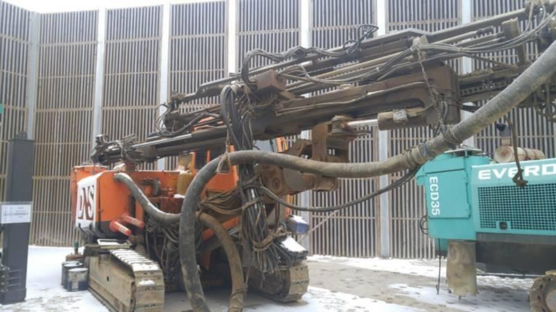 Used hydraulic crawler drill EVERDIGM DNCN3000